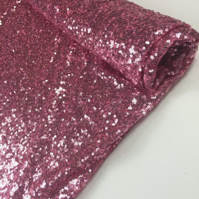 Baby Pink Sequin Table Cloth