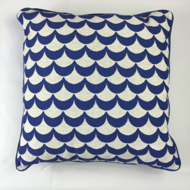 Blue Wave cushion
