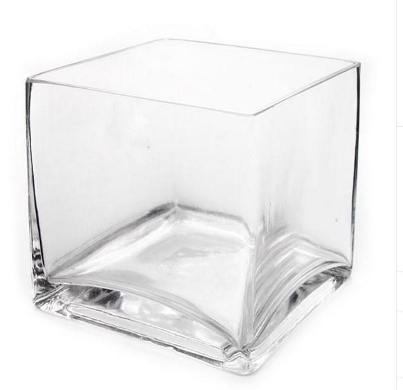 Cube Vase 15cm