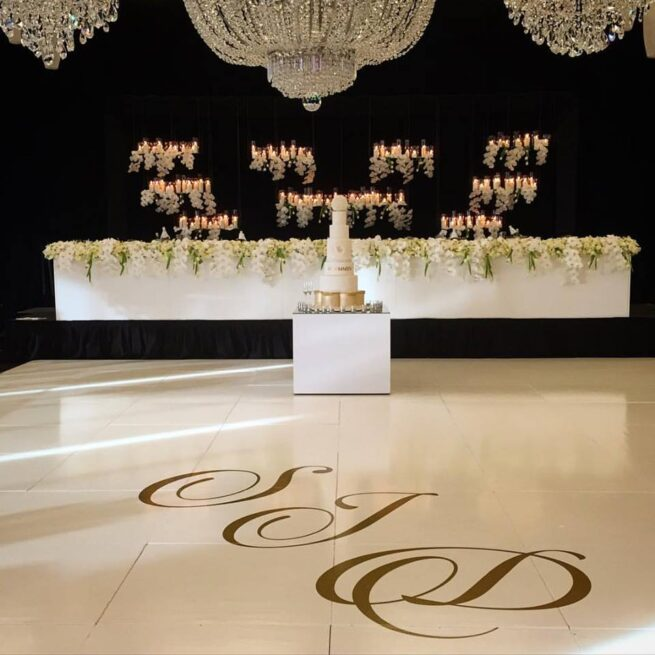 Candle Wall Hire