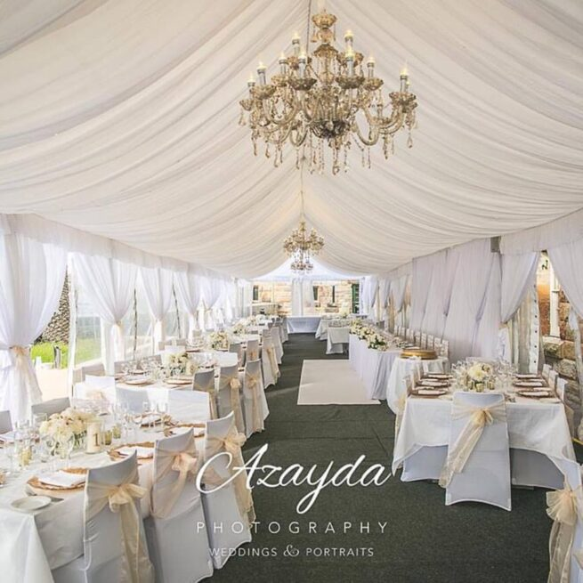 Fort Denison Marquee Draping