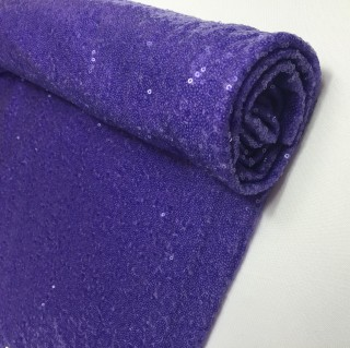 Lilac Sequin Table Cloth