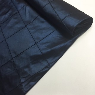 Navy Blue Pintuck Table Cloth