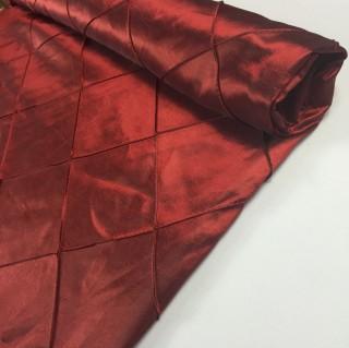 Garnet Red Pintuck Table CLoths