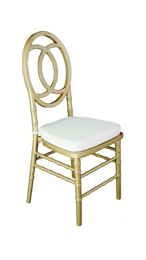 Gold Channel Chair Harbourside Decorators