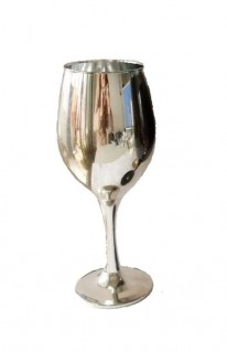 Silver Wine Goblet