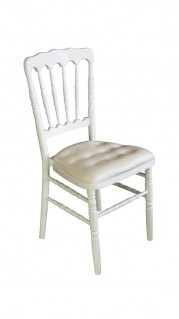 white-napoleon-chair-hire-side