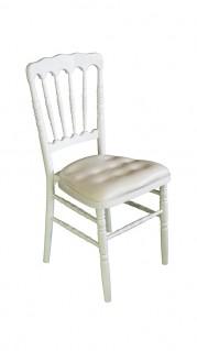 white-napoleon-chair-hire-side