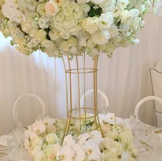 Hex Flower Stand