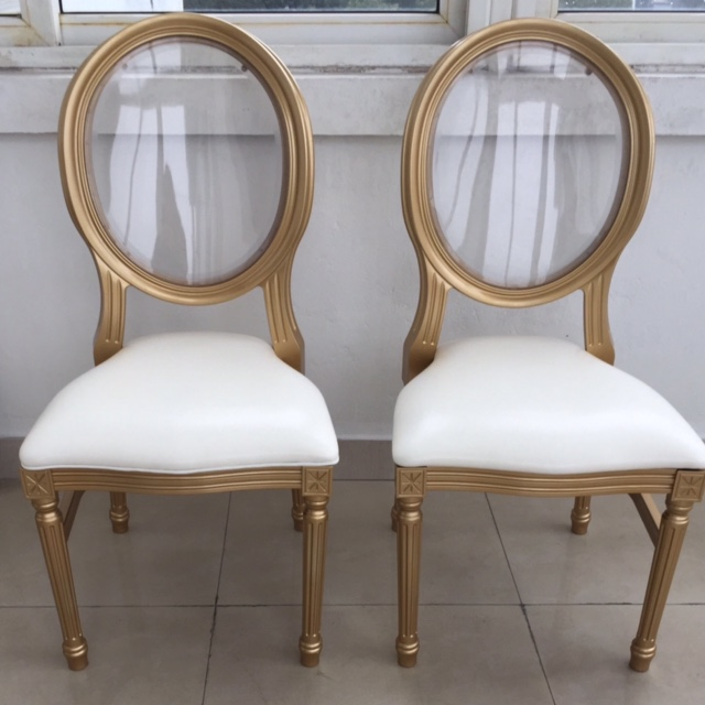 Gold Louis Chairs