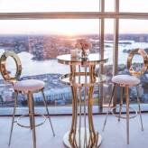 Ada bar table and Obar stool