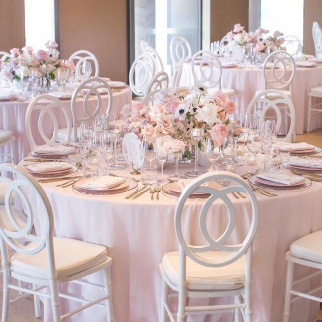 soft pink cotton linen