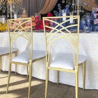 Cielle chairs, bianca linen