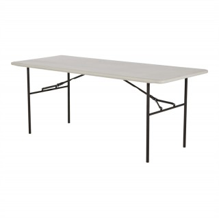 1.8m plastic trestle table