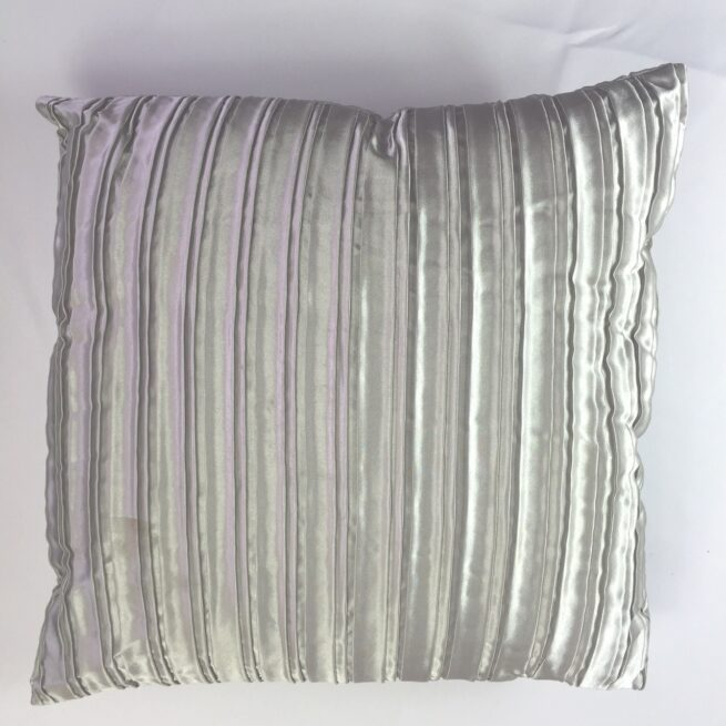 Pewter Crinckle Cushion