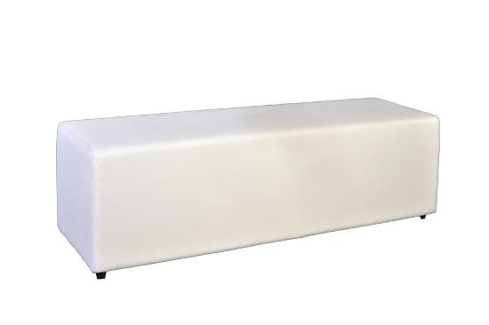 White Ottoman 1.5m