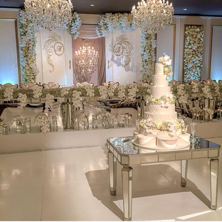 Wedding Cake Table: Harbourside Decorators