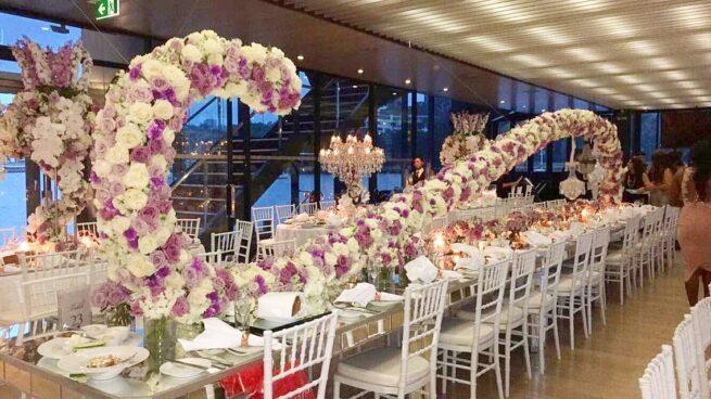 Custom Build Flower swirl Stand