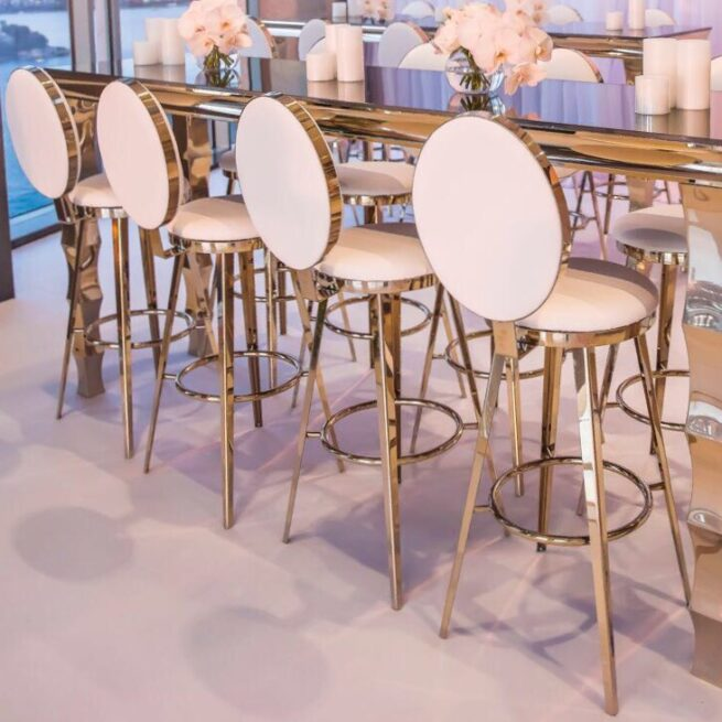 Round Back Bar Stools