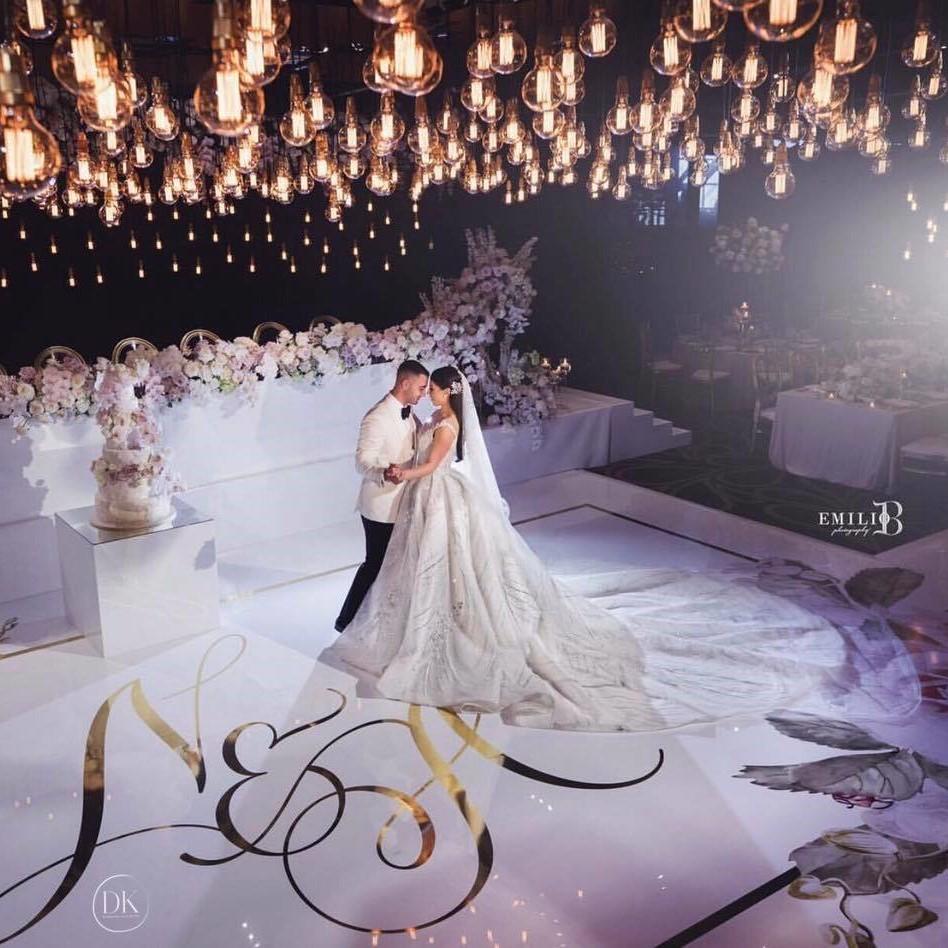 Floor Decal: Well Known Dance Floor Decals For Wedding &AM76