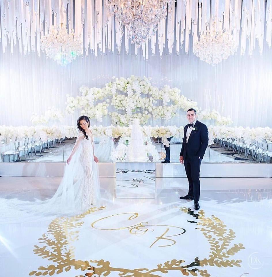 Dance Floor Decal Harbourside Decorators Wedding Decor