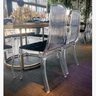 Clear King Chair