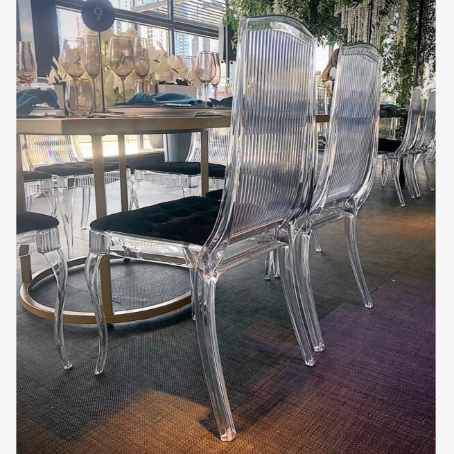 Clear King Chair