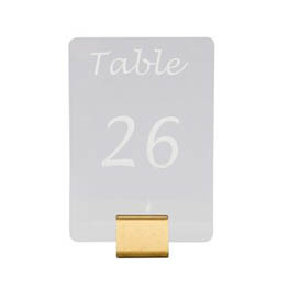Mirrors & Table Numbers